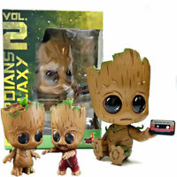3 Toys Guardians of the Galaxy Vol 2 Baby Groot Cosbaby Bobble Head Toy Gifts UK