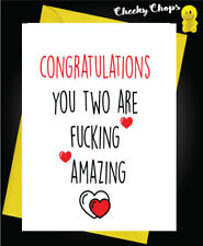 Buy star wars congratulations hand made cards ebay funny wedding greeting card marriage congratulations you two are amazing w11 m4hsunfo