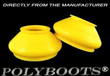 2x Polyboots Polyurethane Track Rod End Dust Boots for Trucks 28x48x31 mm SCANIA