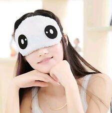 2 Panda Sleeping Face Eye Mask Blindfold Shade Travel Sleep aid Cover Light