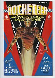 Rocketeer Adventure Magazine #1 VF [Comico 1988] Dave Stevens art