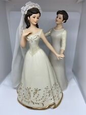 Lenox Moments In Life Collection Figurine A Mother's Loving Touch Bridal Bride