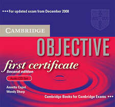 Objective First Certificate Audio CD Set (3 CDs), Sharp, Wendy, Capel, Annette,