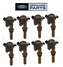 For Ford Explorer F-150 F-250 Mustang Lincoln Set of 8 Direct Ignition Coils OES