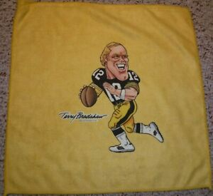 PITTSBURGH STEELERS TERRY BRADSHAW TERRIBLE TOWEL VINTAGE LUSTIG SPORTS ART INC.