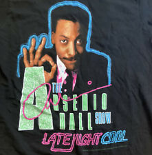 Vintage 1990 Single Stitch The Arsenio Hall Show Tshirt Tagged Size Medium Read
