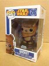 FUNKO POP! Star Wars WICKET #26 Bobble-Head Vinyl Figure *Brand New*