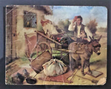 Large Vintage Picture Greeting Card Charles Hunt Moving House Day Frame 23cm