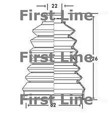 CV JOINT BOOT KIT FOR PEUGEOT 306 FCB2319