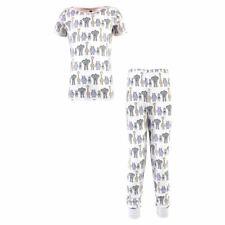 Hudson Baby Cotton Pajama Set, Pink Safari