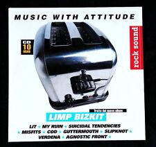 Verdena raro cd ROCK SOUND promo LIMP BIZKIT LIT MISFITS SLIPKNOT COD