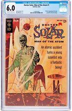 Doctor Solar, Man of the Atom #1 CGC 6.0 Gold Key 1962 1st and Origin! H3 123 cm