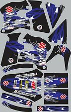 Graphics for 1996-1998 Suzuki RM250 RM 250 Decal fender shrouds Stickers