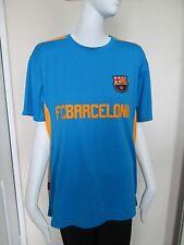 "Rogers-Azul ""FC Barcelona"" De Manga Corta Talla L Camiseta 100% Poliéster"