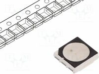 LED 120° SMD RGB 5x5x1,6mm 20mA 5050,PLCC6  Linse: diffus,weiß LTST-K563BGEW LED