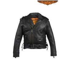 Mens Naked Cowhide Jacket # MJ210-11