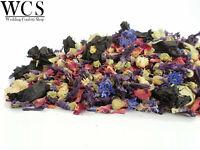 Natural Wedding Confetti, Wildflower Biodegradable Confetti, Twilight 1 Litre