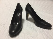 Enzo Angiolini Leather Heels, Size 7.5, Worn Twice