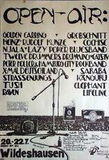 OPEN AIR WILDESHAUSEN - 1984 - Konzertplakat - Golden Earring - Strassenjungs