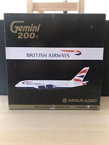 Gemini 1:200 British Airways A380-800 G-XLEA G2BAW422 *READ DESCRIPTION*