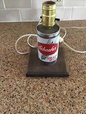 Schaefer Beer Lamp