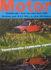 Motor magazine 12/12/1970 featuring Rover 2000 SC road test