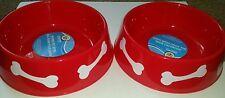 NWT Dog food water pet bowls Plastic Two Piece Bowl Set Paw Patrol Decorations