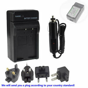 Wall Home &Car Battery Charger For Fuji Fujifilm Np95 NP-95 FinePix F31fd X100