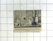 1936 Children's Pantomime By Pupils Of Glendower School At Fortune Theatre
