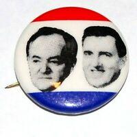 1968 HUBERT HUMPHREY ED MUSKIE campaign pin pinback button political president