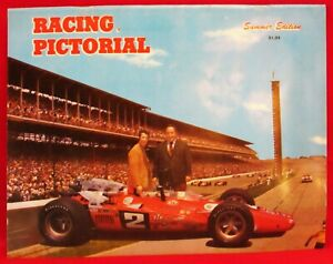 1969 ??? ~ USAC ~ RACING PICTORIAL~ INDY STYLE CARS ~ VERY GOOD CONDITION