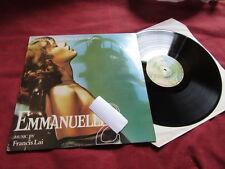 FRANCIS LAI Emmanuelle 2 RARE LP FILM OST