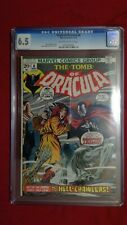 Tomb of Dracula #8 CGC 6.5 OW to White Pages The Vampire Legions Marvel Bronze