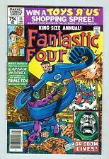 Fantastic Four: Annual #15 Vf 1980 Giant-Size, Captain Marvel