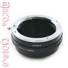 Sony Minolta Alpha lens to Canon EOS M EOSM EF-M mount Mirrorless camera adapter