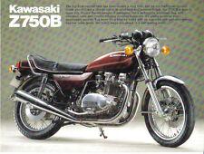 Kawasaki Z750B  Sales Brochure, Original NOS