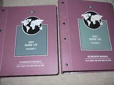 1997 LINCOLN MARK VIII 8 V III Service Shop Repair Manual Set FACTORY 2 VOLUME x