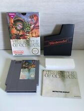 The Battle Of Olympus - Nintendo NES Game PAL A UKV complete box & instructions