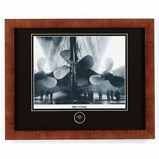 RMS Titanic Ship Framed Photo Print Matted Included Recovered Coal Fragment Coa