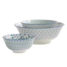 Bowl Set BNWT Set of Six Chinese Rice Grain Porcelain Rice Bowls B