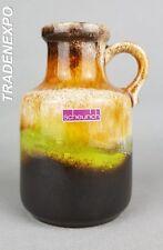 Vintage 1960-70s SCHEURICH KERAMIK Vase 414-16 West German Pottery Fat Lava Era