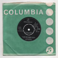 THE SHADOWS - THEME FOR YOUNG LOVERS. (UK, 1964, COLUMBIA, DB 7231)