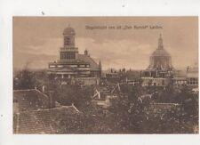 Leiden Vogelvlucht Van Uit Den Burcht Netherlands Vintage Postcard 405b
