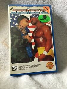 WWF WWE WCW Wrestling Wrestlemainia 7 XII VHS Great Price See Our huge Range!