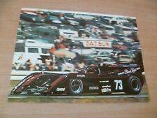 (2)  POSTER COMPETION AUTOMOBILE ANNEES 70  CANAM  39 X 29 CM