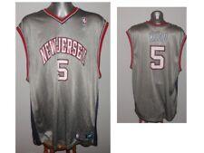 NBA NEW JERSEY NETS BASKETBALL Kidd #5 Reebok Basketball Shirt Jersey size XXL