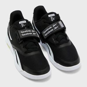Reebok Lifter PR 2 Men's Weightlifting Sneaker Training Shoe Black Gym Trainers