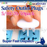 SAFETY OUTLET PLUGS 5/10/20/50 PACK SOCKET COVER PROTECTORS BABY CHILD SAFE