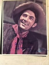 Gregory Peck signed color photograph from Duel in the Sun
