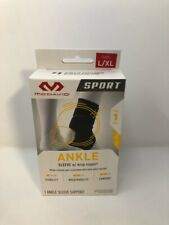 MCdavid Sport ankle sleeve wrap support level 1 L/XL